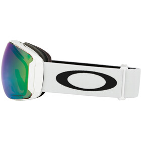 Oakley Airbrake XL Gafas de Nieve Hombre, polished white/w prizm jade iridium/prizm sapphire iridium